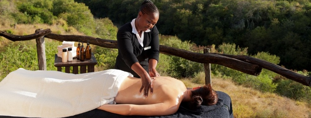 Kwandwe Great Fish River Lodge - spa and wellness