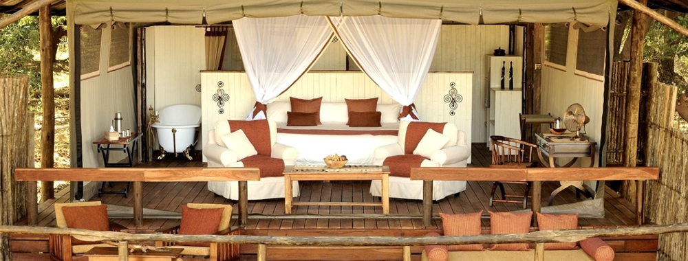 Luxe lodges Zambia