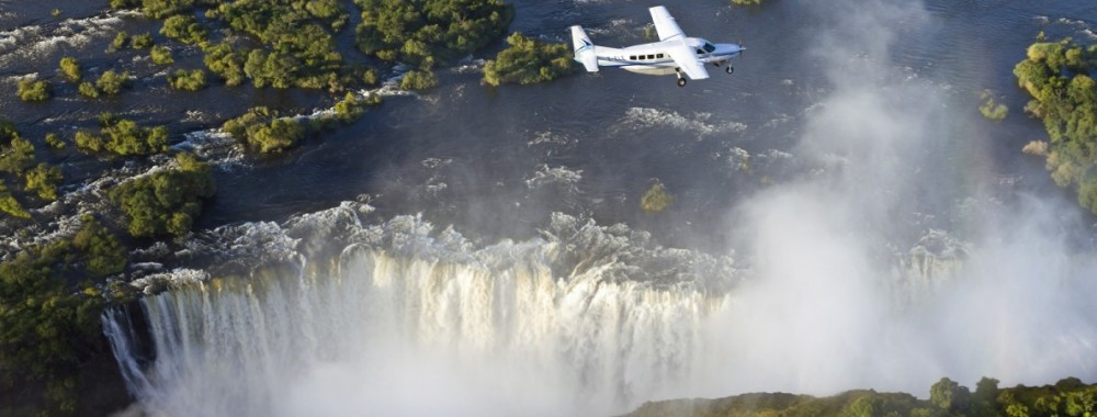 Helikoptervlucht Victoria Falls